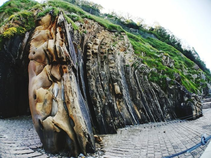 Rock formation.