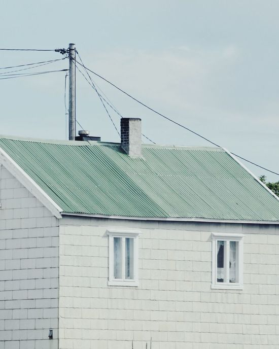 Pale. Architecture Building Exterior Built_Structure Cable Day No People Outdoors Sky Roof Norway Lofoten The Week On EyeEm Editor's Picks
