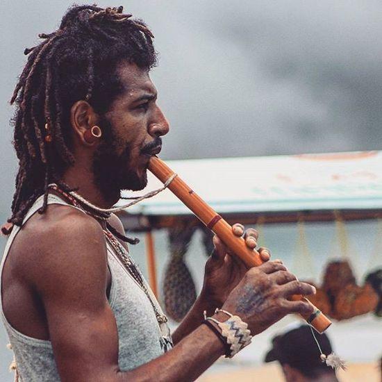 Flautista Jericoacoara Vemprajeri Jeri Flautista Flauta Auternativa Vidaalternativa Arte Musica Peace