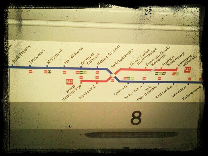 I am proud of II Subway New Line Warsaw Poland :-)