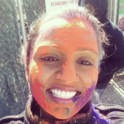 Happy Holi 2014!!! ChokaLyme LibertyAve 26thAnnualPhagwahParade HoliRe welcomingspring powder colors smiles hugs indianstyle indianculture proudhindu RichmondHill