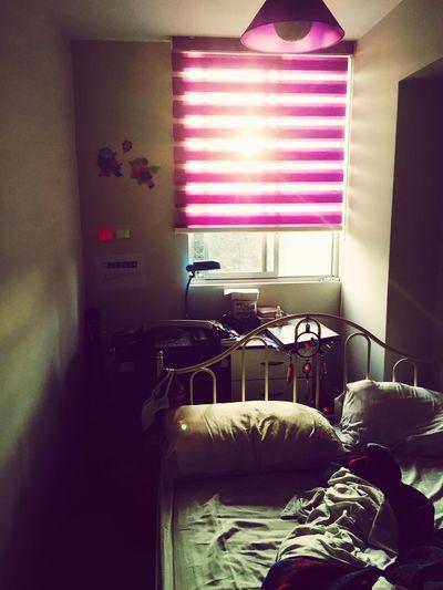 Sunlight Girl Sunset Room