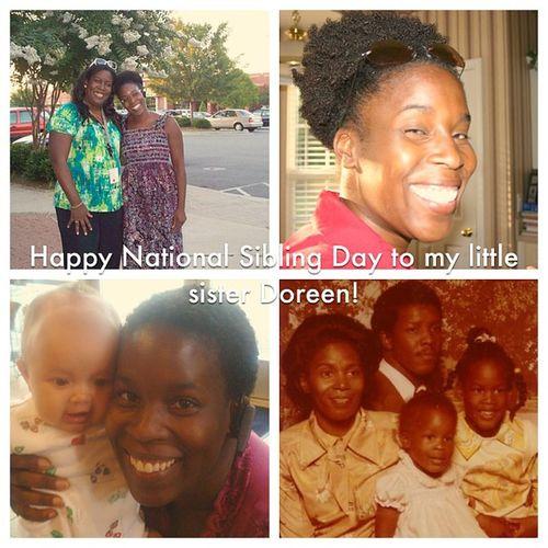 Happy National Siblings Day @mom2rays! Nationalsiblingday Siblingsday Sibling Sister family memories