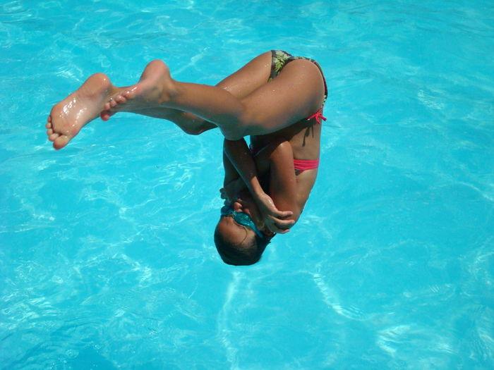 Salto in water