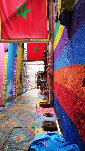 Morocco Fez Morocco Fes Morocco Powder Paint Festival Historic Building Exterior
