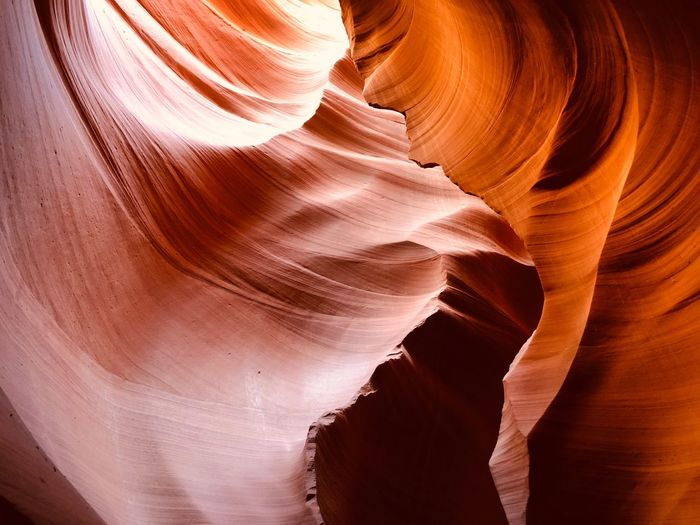 Vacation Antelope Canyon Iphone8plus Amateurphotography IPhoneography Arizona Rock - Object Rock Formation Rock Geology Solid Canyon Non-urban Scene