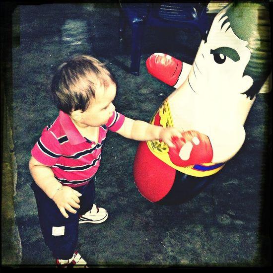 chiquitin y luchador