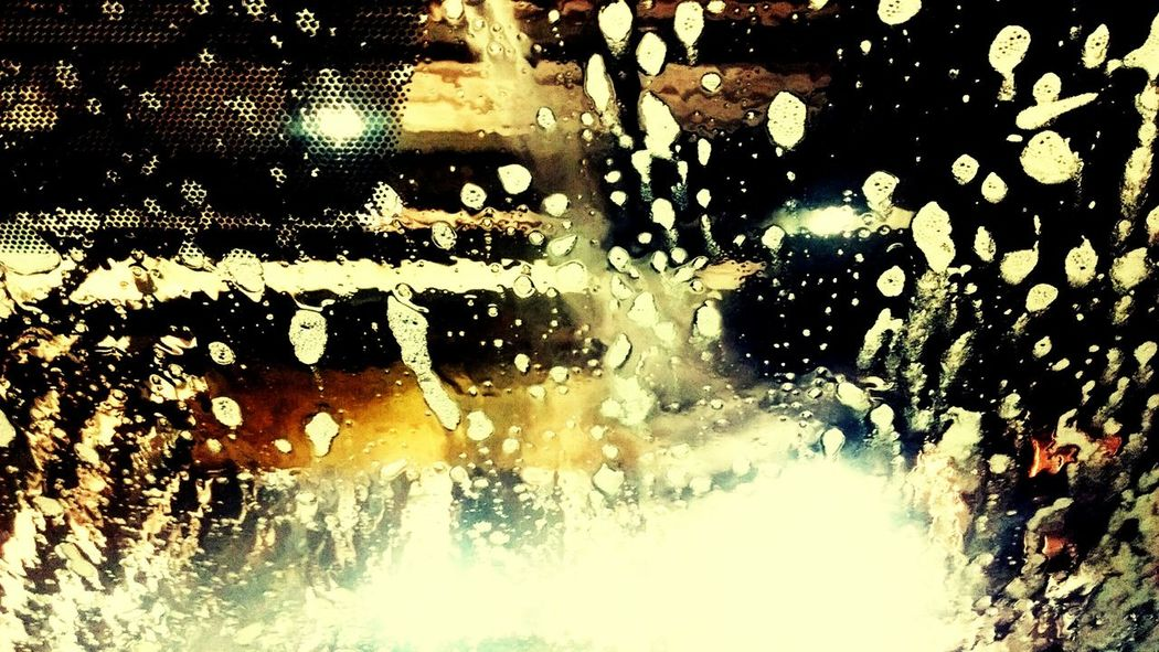 Window Water Full Frame Wet Transportation Cleaning Motion Backgrounds Abstract Business Finance And Industry Car Wash Abstract