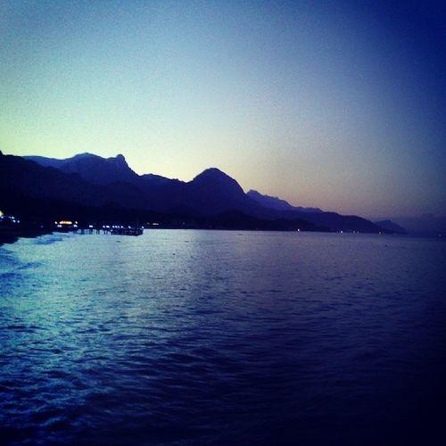 Kemer Sea Mountain Sunrise instagram instapic good nature