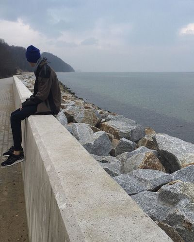 Sea And Sky Sea Baltic Square Beautiful Boyfriend Nature Nofilter First Eyeem Photo Bby Bae  Picoftheday Cold Days Poland Nice View Nice Place