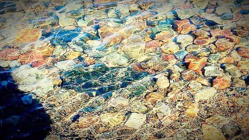 Full Frame Backgrounds Textured  Nature Close-up Pattern No People Day Outdoors Rocks Rocks And Water Sunlight And Shadow Beauty In Nature