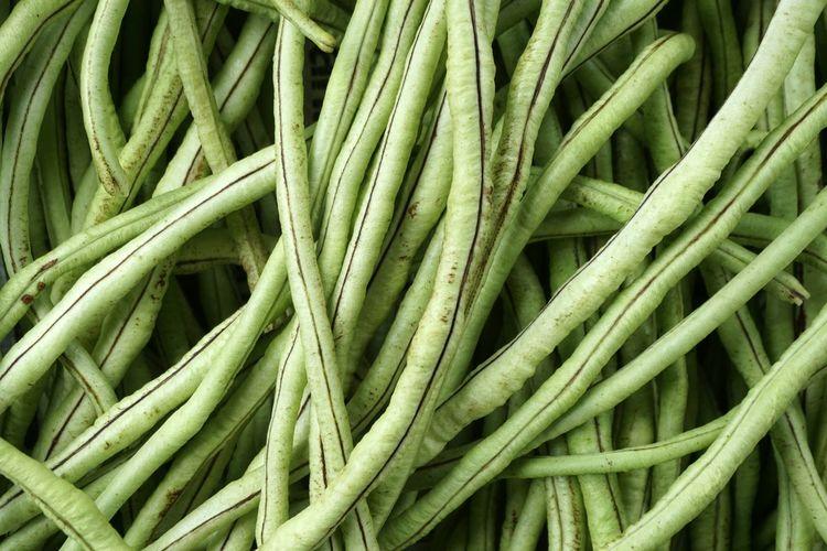 Full frame shot of fresh vegetables in market