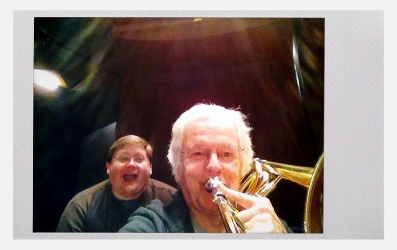 Photobomb Trombone Njpac That's Me