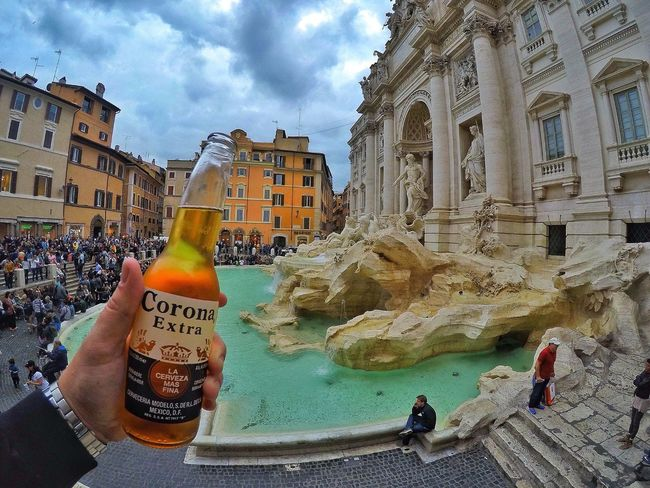 The Architect - 2017 EyeEm Awards Corona's fest / Fontana di Trevi Fontana Di Trevi Roma Italy Corona Architecture Built Structure Building Exterior Sky Day Cloud - Sky Real People Outdoors Men People