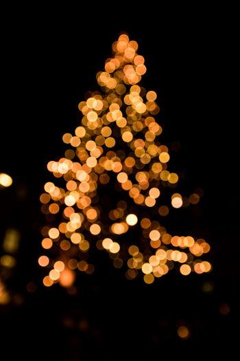 Leipzig Black Background Bokeh Bokeh Lights Bokeh Photography Celebration Christmas Christmas Decoration Christmas Lights Close-up Defocused Illuminated Night No People Outdoors Sky