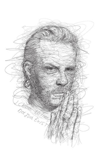 Diital Art Digital DigtalArt Digitalart  Digitalart  Drawing Scribbles And Sketchy ScribbleDrawing Scribbled Scribbles Scribble Digital Painting Digtal Drawing Digital Art James Hetfield Metalica
