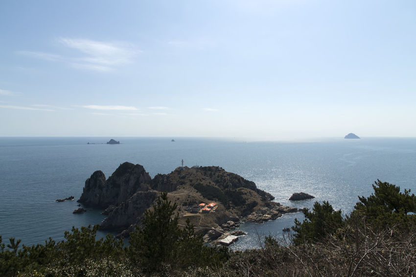 seaside view of Somaemuldo Island in the sea of Tongyeong, Gyeongnam, South Korea. Taken with Nikon d850 Nature's Beauty Nikon D850 Peaceful View South Korea Tongyeong Tranquil Tranquility Beach Beauty In Nature Beauty Of Nature D850 Day High Angle View Horizon Over Sea Horizon Over Water Landscape Mountain Nature No People Outdoor Outdoor Photography Outdoors Peaceful Day Peaceful Nature Scenics Sea Sea Water Seascape Seaside Seaside View Sky Somaemuldo Tranquil Scene Tranquility Travel Destinations Water
