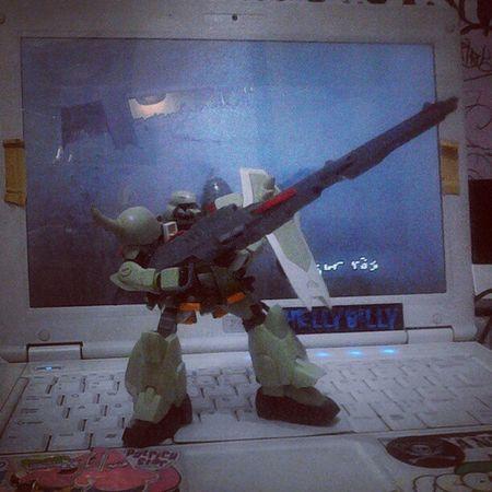 My last Toys Modelkit Gundam Zaku