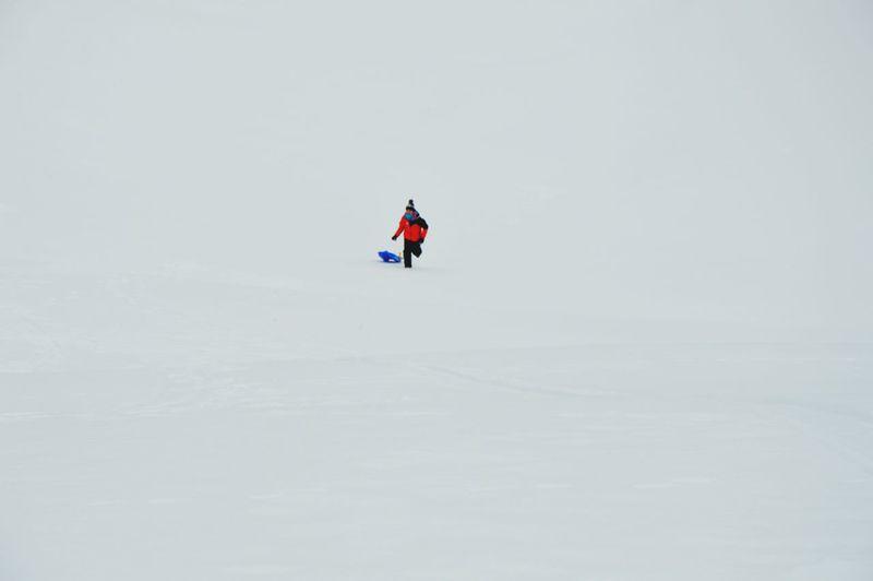 Full Length Headwear Winter Frozen Water Snow Adventure