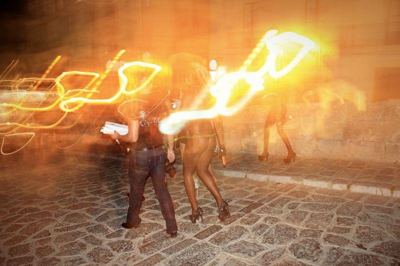 Ibizastyle  Ibiza Nightlife Lights The Street Photographer - 2016 EyeEm Awards Skin Heels Nightfun Fire Movement This Girl Is On Fire  Neon Life