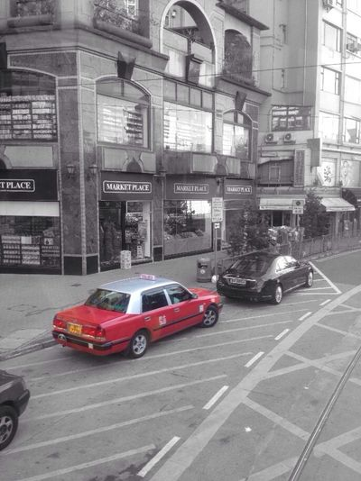 Streetphotography Blackandwhite Taxi Happyvalley HongKong Places