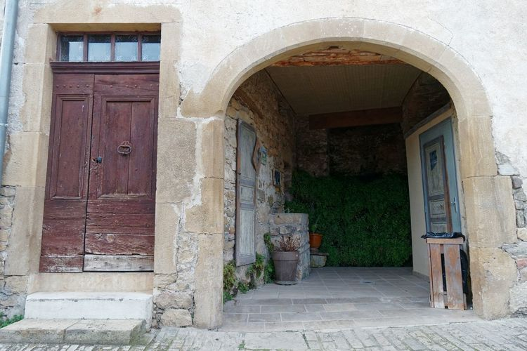 Toilettes publiques à Peyre Arch Arched Doorway Wc City Cityscape Streetphotography Street Photography Street Toilet Door Doorporn Village Aveyron Doorway Arch Door Entrance Architecture Building Exterior Built Structure Open Door Entry Front Door Exterior