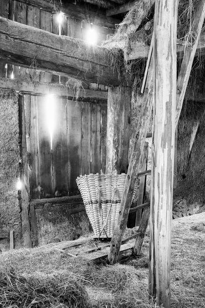 Haistodl Nikon B/W Photography Südtirol Alto Adige Heustadl Farm Life Farm Work Hay Straw Barn