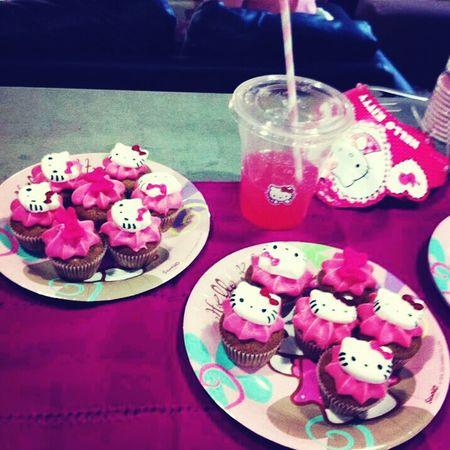 my daugther s Birthday Cupcakes