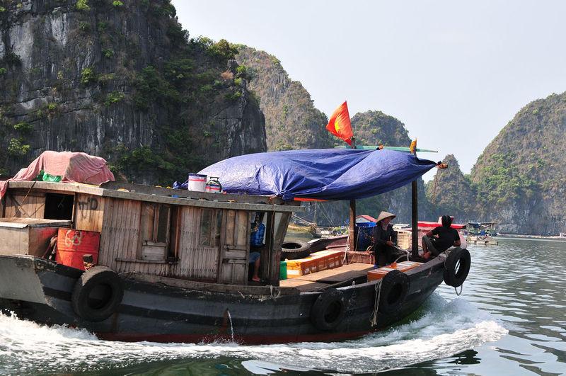 Cat Ba boat.