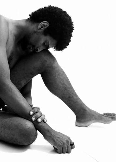 Auto-retrato (introspecção nua) 😃 Retratos Bahia/brazil