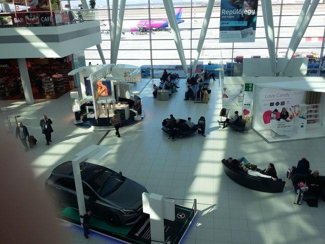 Hello World Airport Air Plane Budapestairport Today :) Budapest, Hungary