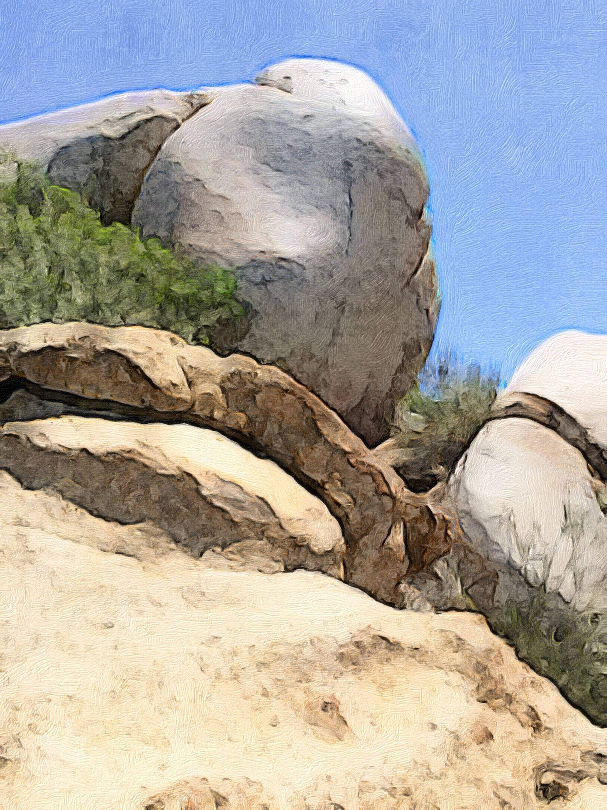 blue, rock - object, textured, low angle view, nature, rock formation, rough, tranquility, clear sky, day, no people, sunlight, outdoors, beauty in nature, rock, close-up, natural pattern, stone - object, sky, pattern
