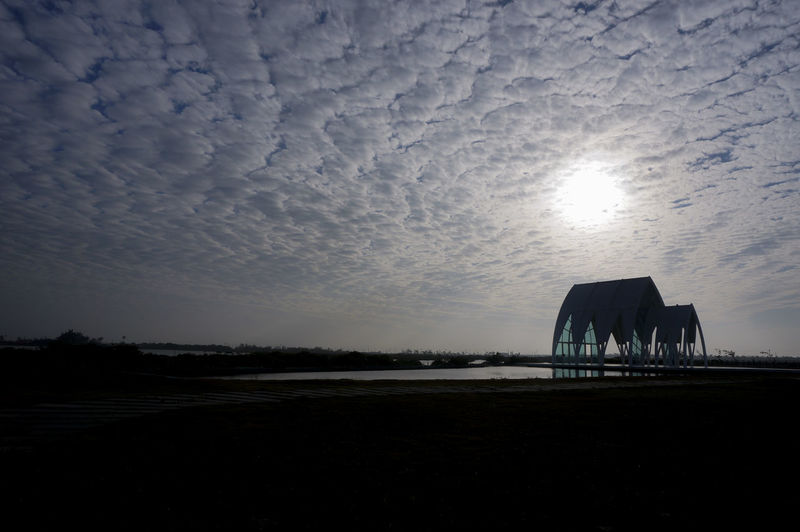 Crystal Church at Tainan, Taiwan Architecture Church Cloud Light Outdoors Reflection Scenics Sky Tranquil Scene Tranquility Window