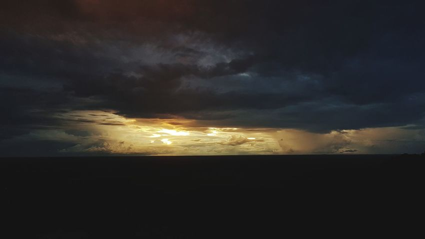 Dramatic Sky Nature Night No People Cloud - Sky Outdoors Landscape Beauty In Nature Sea Sunset Water Scenics Sky Thunderstorm Power In Nature Sunset Horizon Over Water