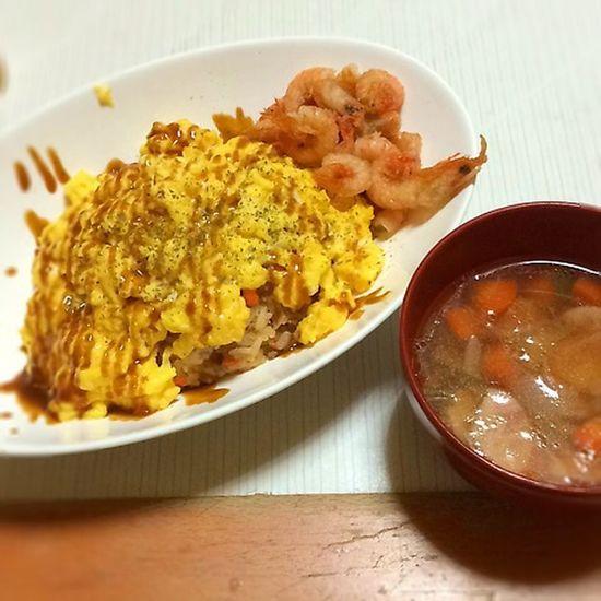 Food Omurice Dinner