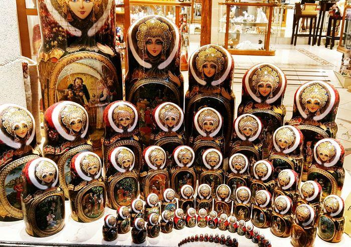 Large Group Of Objects Abundance Variation No People Indoors  Day Close-up Matryoshka Matryoshka Doll Dolls