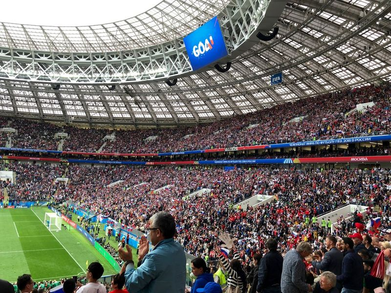 Event FIFA World Cup Russia FIFA World Cup Of 2018 Football Luzhniki Moscow Russia Russia 2018 Stadium Architecture Built Structure Crowd Fifa World Cup Fifa2018 Football Stadium Group Of People Large Group Of People Russia2018 Soccer Spectator Sport Stadium Togetherness World Cup World Cup 2018 World Cup 2018 #urbanana: The Urban Playground