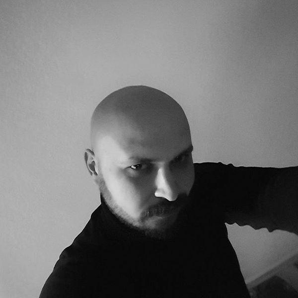 Günlerden kellik :D Kel Bald Türkiye Balikesir Gönen Hairless  Black Evening