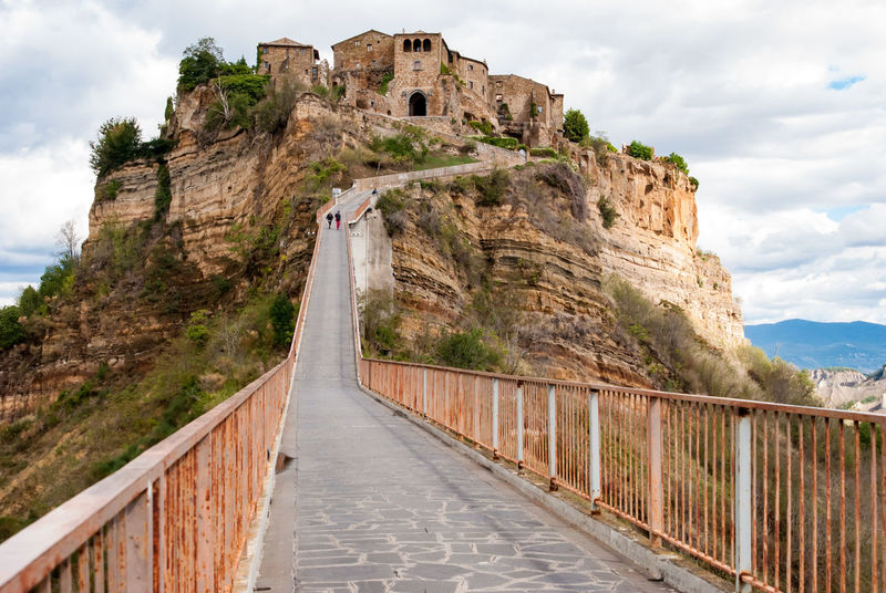 Architecture Civita Di Bagnoregio History Italy Lazio No People The City That Dies Travel Destinations Sky Built Structure The Way Forward Outdoors Day Building Exterior Mountain Nature Cloud - Sky