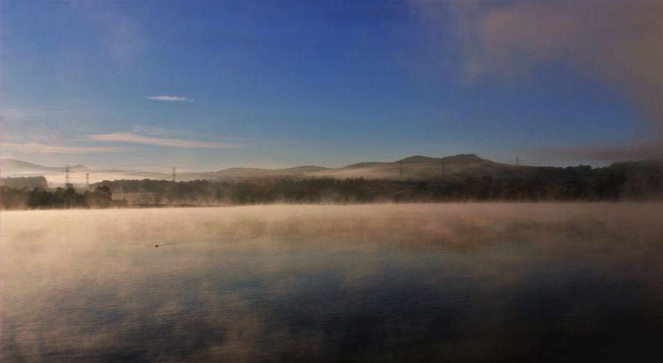 Smoky waters