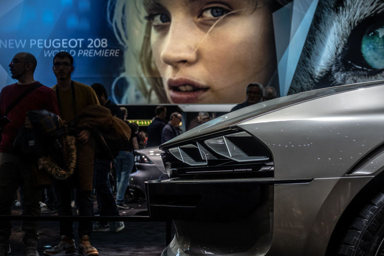 Mode Of Transportation Transportation Car Motor Vehicle Concept Peugeot Exhibition Geneva Land Vehicle International Women's Day 2019