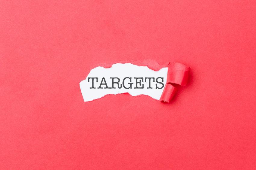 Communication Text Western Script Indoors  Close-up Colored Background Studio Shot Message Title Header Hidden Revealed Secret Target Goals