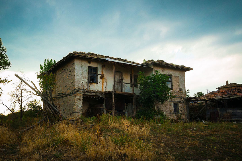 Ruins Old House Bulgaria