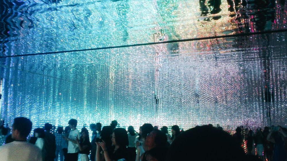 VSCO TeamLab Light Art Digital Art Exhibition