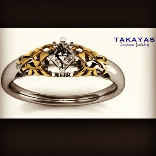 I'm Inlove With This Ring! Zeldafan Engagementring TakayasCustomJewelry