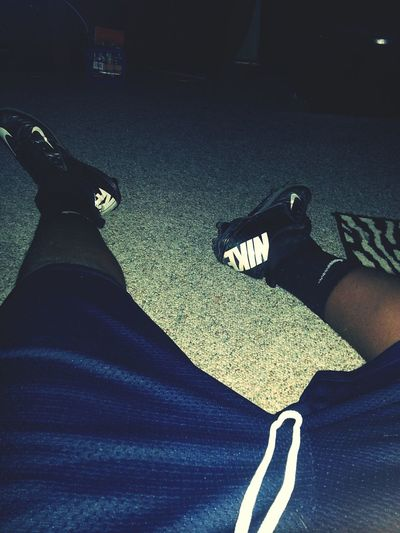 still in my cleats Hftcp