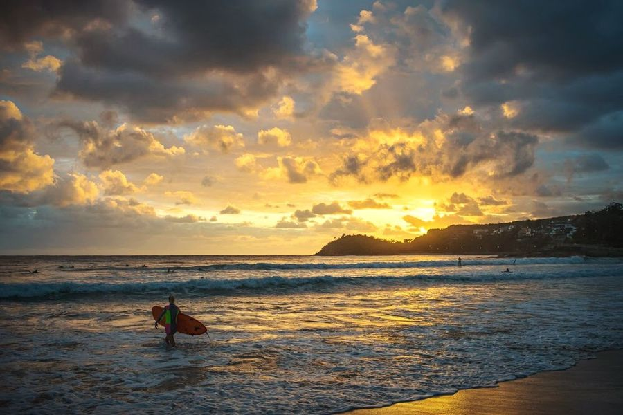 Surfection! Beachphotography Surfing Sunrise Landscape_Collection