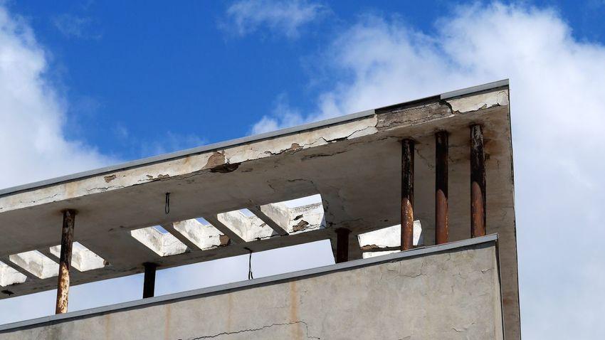 Architecture Bausünde Bausünden Building Exterior Built Structure Damaged Day Investruine Los Gigantes Los Gigantos Low Angle View Ruined Ruins Tenerife Tenerife Island Teneriffa Verfall