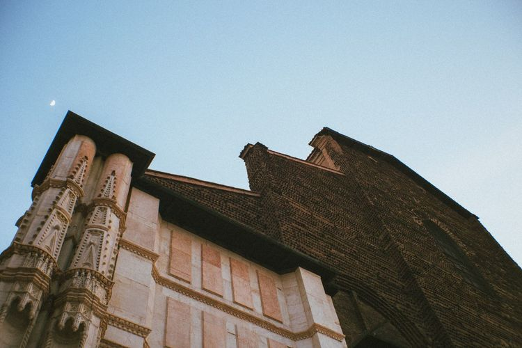 Bologna Bologna Architecture Low Angle View Built Structure Building Exterior Religion No People Day