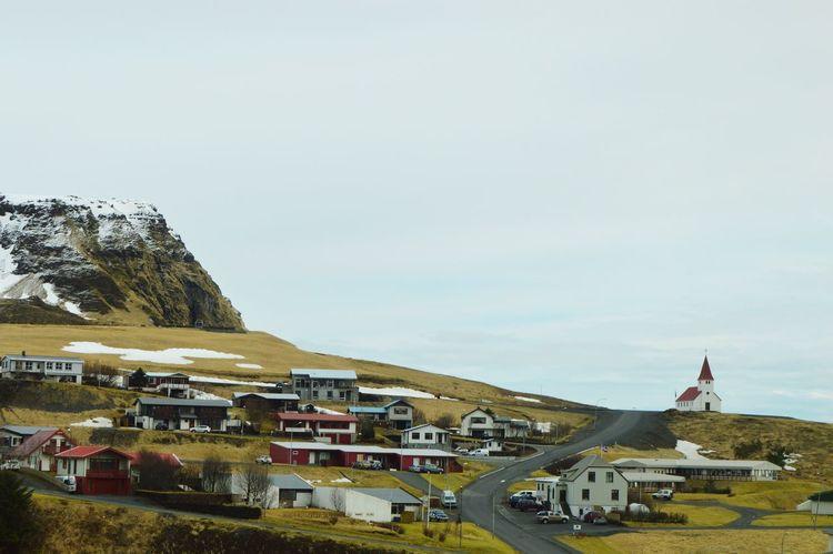 Iceland Town Traveling Drivebyphotography Church Hills Landscape Nikon D3200